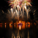 An incentive trip to Walt Disney World in Orlando, Florida ended with a great view of the Magic Kingdom firework show.