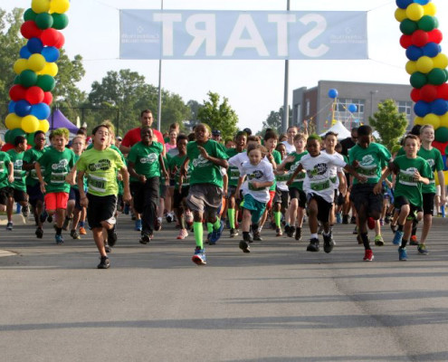 This annual non-profit event combined a 5K run, a fun-walk and a healthy living festival complete with entertainment, family activities and an awards ceremony.